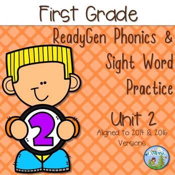 ReadyGen (Ready Gen) Phonics Unit 2 First Grade