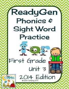 ReadyGen (Ready Gen) Phonics Unit 3 First Grade