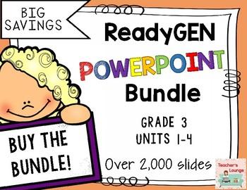 ReadyGen PowerPoints 2016 - BUNDLED - Grade 3