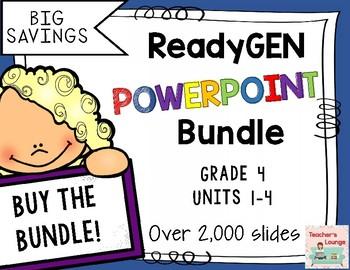 ReadyGen PowerPoints 2016 - BUNDLED - Grade 4