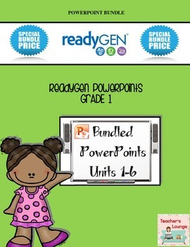 ReadyGen PowerPoints - BUNDLED - Grade 1