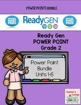 ReadyGen PowerPoints - BUNDLED - Grade 2