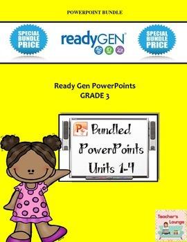 ReadyGen PowerPoints - BUNDLED - Grade 3