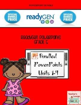 ReadyGen PowerPoints - BUNDLED - Grade 5