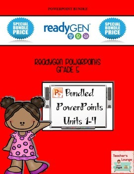 ReadyGen PowerPoints - BUNDLED - Grade 5