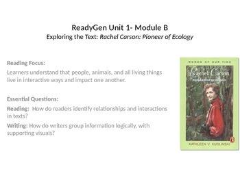 ReadyGen Powerpoint Unit 1, Module B, Lesson 5