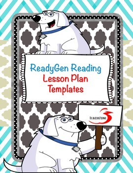 ReadyGen Reading Lesson Plan Templates