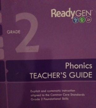 ReadyGen (Ready GEN) 2nd Grade Phonics SMARTboard Lessons Unit 3 Week 1