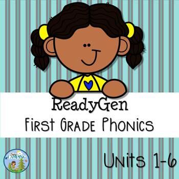 ReadyGen (Ready Gen) Phonics 2016 Version, Units 1-6