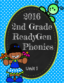 ReadyGen (Ready Gen) Phonics Unit 1, 2nd Grade 2016