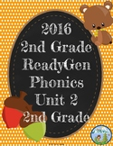 ReadyGen (Ready Gen) Phonics Unit 2, 2nd Grade 2016 Version
