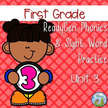 ReadyGen (Ready Gen) Phonics Unit 3 First Grade 2016