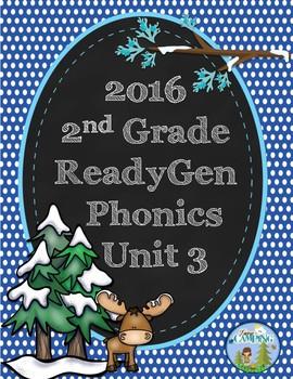 ReadyGen (Ready Gen) Phonics Unit 3, 2nd Grade 2016 Version