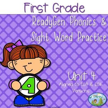 ReadyGen (Ready Gen) Phonics Unit 4 First Grade 2016