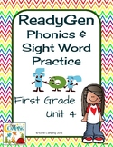 ReadyGen (Ready Gen) Phonics Unit 4 First Grade 2014