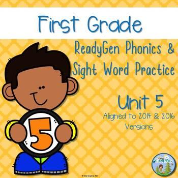 ReadyGen (Ready Gen) Phonics Unit 5 First Grade 2016