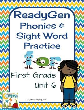 ReadyGen (Ready Gen) Phonics Unit 6 Weeks 1-3