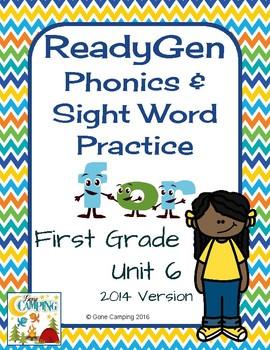 ReadyGen (Ready Gen) Phonics Unit 6 Weeks 4-6 2014