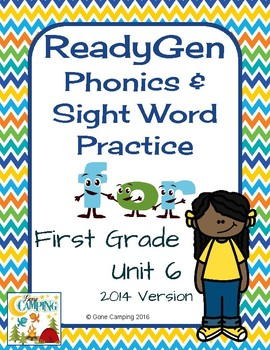 ReadyGen (Ready Gen) Phonics Unit 6 Weeks 4-6 2014