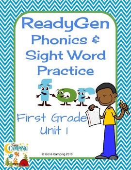 ReadyGen (Ready Gen) Phonics Units 1-6 2014