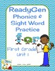 ReadyGen (Ready Gen) Phonics Units 1-6 2014