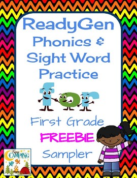 ReadyGen (Ready Gen) Phonics and Sight Word Practice