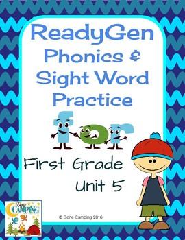 ReadyGen (Ready Gen) Phonics Unit 5 2014