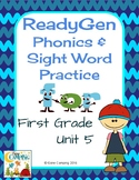 ReadyGen (Ready Gen) Phonics Unit 5 2014