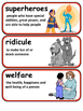 ReadyGen Real-Life Superheroes Vocabulary 5th Grade Unit 2
