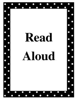 ReadyGen Routine Posters Ready Gen reading