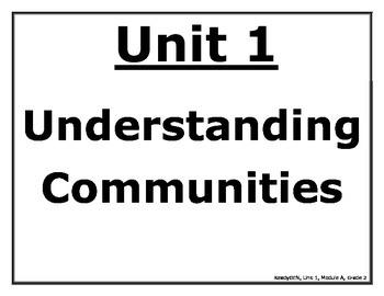 ReadyGen Second Grade Unit 1 Module A Posters