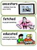 ReadyGen Seeds of Change Vocabulary 2nd Grade Unit 6 Module A