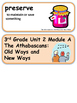 ReadyGen The Athabascans:Old Ways and New Ways 3rd Grade Unit 2 Module A