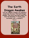 ReadyGen The Earth Dragon Awakes Vocabulary 2nd Grade Unit 4 Module A