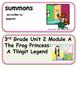 ReadyGen The Frog Princess Vocabulary 3rd grade Unit 2 Module A