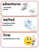 ReadyGen The Snowy Day Vocabulary Kindergarten Unit 3 Module A