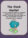 ReadyGen The Stock Market Vocabulary 4th Grade Unit 4 Module B