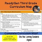 ReadyGen Third Grade Curriculum Map Ohio Standards