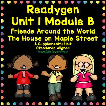 ReadyGen Unit 1 Module B Centers and Activities Second Grade
