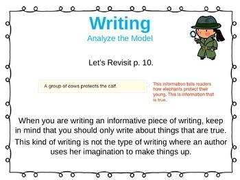 ReadyGen Unit 1 Module B - EDITABLE PowerPoint Lessons - Grade 1