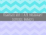 ReadyGen Unit 1 Vocabulary Centers Grade 3