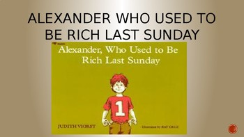 ReadyGen Unit 2 Alexander Who Used to Be Rich Last Sunday Vocabulary and HFW