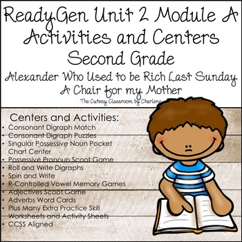 ReadyGen Unit 2 Module A Centers and Activities Second Grade