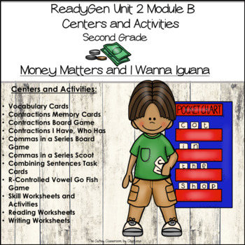 ReadyGen Unit 2 Module B Centers and Activities Second Grade