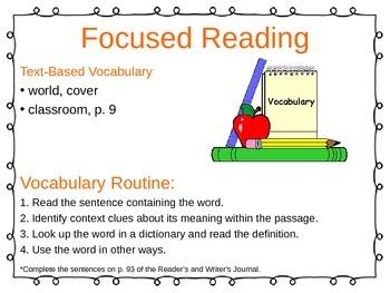 ReadyGen Unit 2 Module B - EDITABLE PowerPoint Lessons - Grade 1
