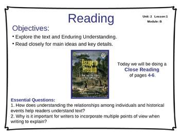 ReadyGen Unit 2 Module B - EDITABLE PowerPoint Lessons - Grade 5