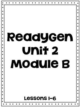 ReadyGen Unit 2 Module B Workbook