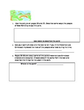 ReadyGen Unit 3 Lesson 3 Module B Reading Response