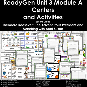 ReadyGen Unit 3 Module A Second Grade Centers and Activities