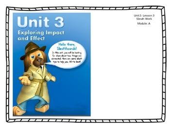 ReadyGen Unit 3 - Module A - Lesson 3 - Sleuth